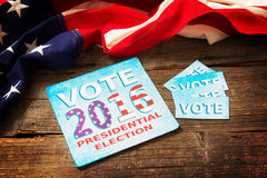 Presidential Election Composition Royalty Free Stock Photography