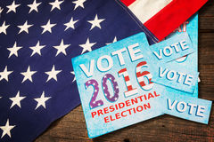 Presidential Election Composition Royalty Free Stock Photos
