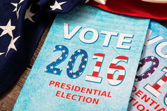 Presidential Election Composition Stock Image