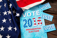 Presidential Election Composition Stock Images
