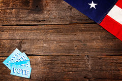 Presidential Election Composition Royalty Free Stock Photo
