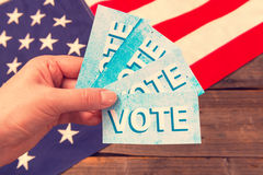Presidential Election Composition Stock Photography
