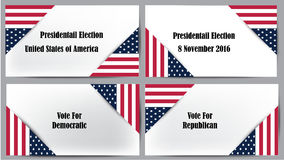Presidential election United States of America Stock Photos