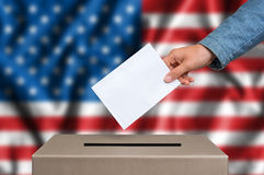 Presidential election in United States of America stock image