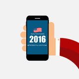 Presidential Election 2016 in USA Background. Can Be Used as Ban Royalty Free Stock Photography