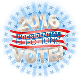 2016 presidential election. In usa. vector Stock Photos