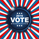 Presidential Election Vote 2016 in USA Background. Can Be Used a Stock Image