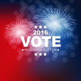 Presidential Election Vote 2016 in USA Background. Can Be Used a Stock Photography