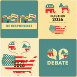 Presidential Election Voting Royalty Free Stock Images