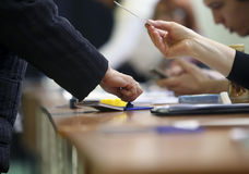Presidential Elections in Romania Stock Photography