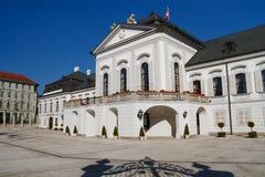 Presidential Grassalkovich Palace, Bratislava Stock Photo