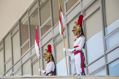 Presidential Guard (Independence Dragoons) Royalty Free Stock Photography