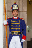 Presidential guard in the presidential palace, Stock Image