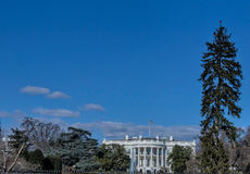 Presidential Home--The White House Royalty Free Stock Images