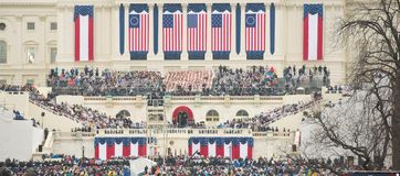 Presidential Inauguration of Donald Trump Stock Images