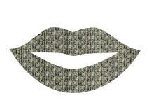 Presidential lips Stock Photo