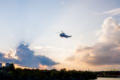 Presidential Marine Helicopter Stock Image