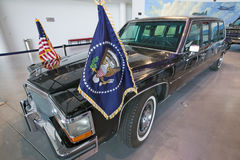 Presidential motorcade. On display at the Ronald Reagan Presidential Library and Museum, Simi Valley, CA Royalty Free Stock Photos