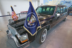Presidential motorcade on display at the Ronald Reagan Presidential Library and Museum, Simi Valley, CA Stock Image