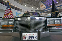 Presidential motorcade on display at the Ronald Reagan Presidential Library and Museum, Simi Valley, CA Stock Photography