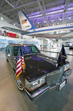 Presidential motorcade on display at the Ronald Reagan Presidential Library and Museum, Simi Valley, CA Royalty Free Stock Photos
