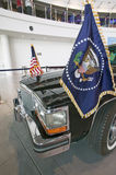 Presidential motorcade on display at the Ronald Reagan Presidential Library and Museum, Simi Valley, CA Royalty Free Stock Photo