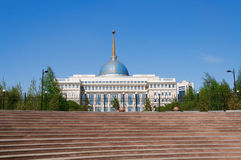 Presidential palace Ak-Orda in Astana. Kazakhstan Royalty Free Stock Photos