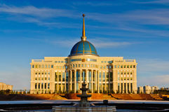 Presidential Palace in Astana Stock Images