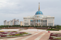 Presidential Palace in Astana Royalty Free Stock Photo