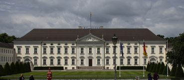 The Presidential Palace in Berlin royalty free stock photo