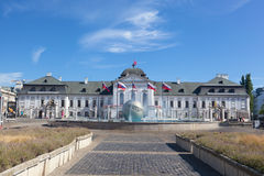 Presidential palace in Bratislava Royalty Free Stock Photos