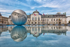 Presidential palace in Bratislava Royalty Free Stock Images