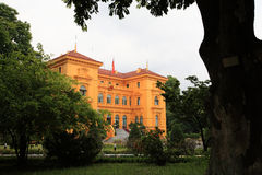 Presidential Palace in Hanoi Royalty Free Stock Photography