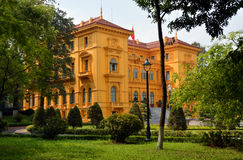 The Presidential Palace, Hanoi Vietnam. Stock Image