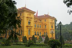 Presidential Palace in Hanoi Royalty Free Stock Photo