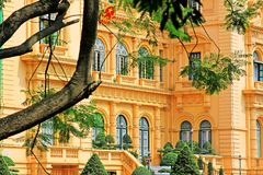 Presidential Palace, Hanoi Vietnam Royalty Free Stock Photography
