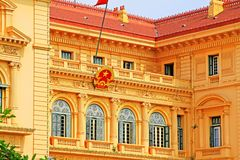 Presidential Palace, Hanoi Vietnam Royalty Free Stock Photos