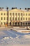 Presidential Palace in Helsinki stock image