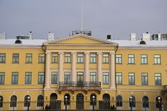 Presidential palace Helsinki Stock Photography
