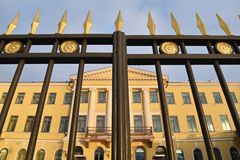 Presidential palace Helsinki Royalty Free Stock Image