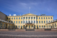 Presidential Palace. At Helsinki Finland Royalty Free Stock Photos