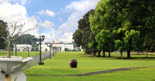 The presidential palace of indonesia, Bogor. The presidential palace of indonesia. this place in bogor, west java Royalty Free Stock Images