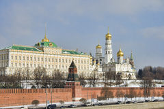 Presidential Palace of Moscow Kremlin Royalty Free Stock Images