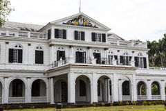 Presidential palace in Paramaribo, Suriname Royalty Free Stock Images