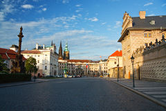 Presidential palace in Prague. Royalty Free Stock Photography