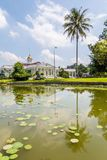 Presidential Palace of the Republic of Indonesia in Bogor, West. Java, Indonesia Royalty Free Stock Photos