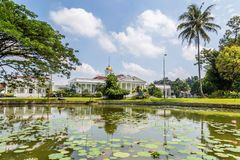 Presidential Palace of the Republic of Indonesia in Bogor, West. Java, Indonesia Royalty Free Stock Image
