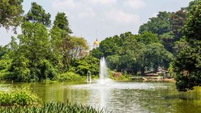 Presidential Palace of the Republic of Indonesia in Bogor, West. Java, Indonesia Stock Photography