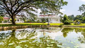 Presidential Palace of the Republic of Indonesia in Bogor, West. Java, Indonesia Stock Images