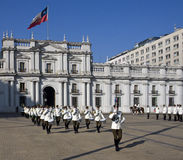 Presidential Palace in Santiago - Chile stock photo